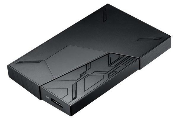 RGB幻彩加持:ASUS 华硕 推出 FX 系列 电竞移动硬盘