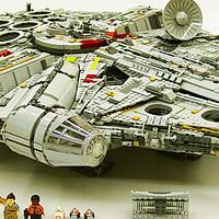 不惑大叔的legogo 篇二十三:认准这只鹰—乐高星球大战之究极千年隼(LEGO75192)