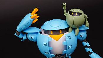 Ganpla模玩分享 篇二:大型广告动画片《高达创形者》之 BANDAI 万代 HG 桃桃卡普尔 模型开箱评测