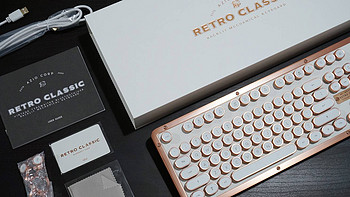 海淘败家—AZIO RETRO CLASSIC 复古键盘开箱