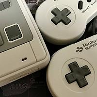 情怀无价 Nintendo 任天堂 SFC MINI 游戏机 开箱