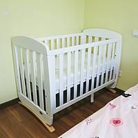 新手妈妈买买买之囤货 篇一:澳洲Boori婴儿床开箱