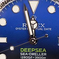 更深的蓝—Rolex 劳力士 D-bule 渐变鬼王 男款深潜表开箱