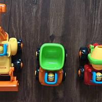 宝贝儿子的玩具系列 篇五:性价比出众的好牌子—汇乐326快乐工程车队开箱