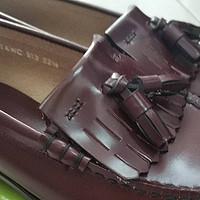 亚马逊神价格入手的第一双制服鞋 Haruta 真皮制服鞋 开箱