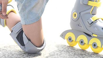 没被轮滑摔过的童年不是一名好爸爸,小寻专为初学者设计的智能轮滑鞋