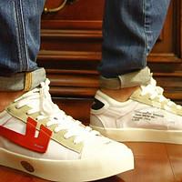 """一双有点酷的小白鞋—回力 """"回天之力"""" 鸳鸯配色硫化改造鞋开箱"""