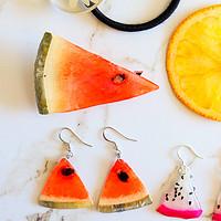 """戴上""""水果""""到处浪  价值上万元的水果耳环制作教程送给你"""