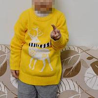 小猪班纳套头针织衫+保暖小长裤童装 晒单