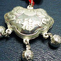 送给宝宝的礼物——老凤祥银锁吊坠开箱