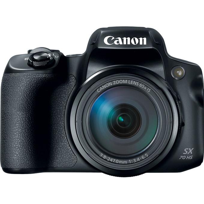 65倍光学变焦 佳能发布新款大变焦比相机PowerShot SX70 HS