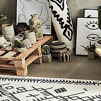 选对地毯尺寸,完美利用所有空间!