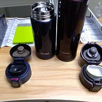 新鲜试用 篇七:虎牌和象印保温杯开箱和保温对比试用