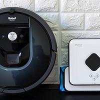 扫擦分离更显洁净:iRobot Roomba 970+ Braava 381 扫擦组合体验测评