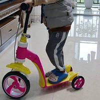 L-SUN小太阳 二合一儿童滑板车 开箱