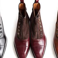 优雅的复古与改造, J.Fitzpatrick westlake button boots靴开箱