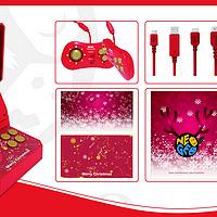 复古潮盯上了节日混搭,SNK 公布 NEOGEO 圣诞版 游戏机礼盒