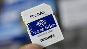东芝FlashAir 第四代无线存储卡开箱