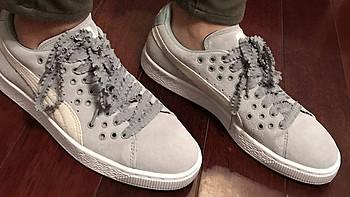 胖胖买的鞋 篇三:PUMA SUEDE XL Lace休闲鞋