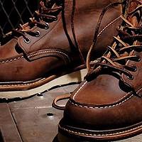 【百年品牌】RED WING红翼1907+9111男款工装靴开箱