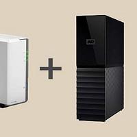 这可能是最实在的家用真NAS:群晖DS119J+拆机WD My Book 8T硬盘