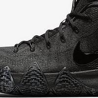 二丁目的篮球鞋 篇四十三:鞋底水墨风的黑魂又来了——欧文4 黑魂