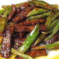 香嫩爽辣,十足下饭的快手家常菜:杭椒牛柳