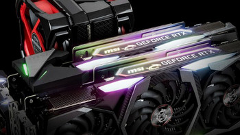 "支持Mystic Light""神秘之光""同步灯效:msi 微星 发布 GeForce RTX NVLink GPU BRIDGE 桥接器"