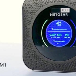为了更好的性能-网件千兆4G便携路由Nighthawk M1(MR100)开箱测评