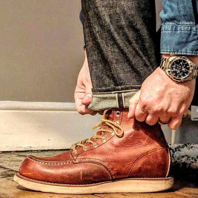 一双到位,男士工装靴精选榜