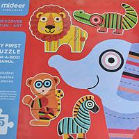 宝贝的第二款拼图—MIDEER 弥鹿 儿童拼图开箱