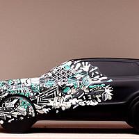 大妈中奖秀之LYNK &CO 车模&画框