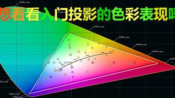 除了分辨率,选购投影还应看什么?  入门级投影的色彩大比拼