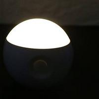 一款随意粘贴的人体感应小夜灯,可以告别小米床头灯了