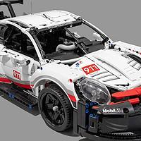 珠玉在前但毫不示弱的佳作:乐高 科技系列 42096 保时捷911 RSR