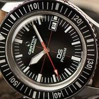 迟到的生日礼物—雪铁纳DS PH200M复刻腕表