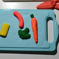 培养中华小当家!培乐多创意厨房系列 厨师工具款B9021晒单