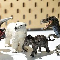 动物园里来新人 Schleich 思乐 野生动物&恐龙养成计划3