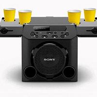 13小时续航、自带杯架:索尼 发布 GTK-PG10 户外音箱