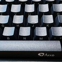 AKKO 艾酷 3087 cherry茶轴87键机械键盘开箱晒单