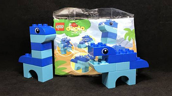 LEGO 乐高 拼拼乐 篇218:Duplo 得宝系列 30325 我的第一只恐龙