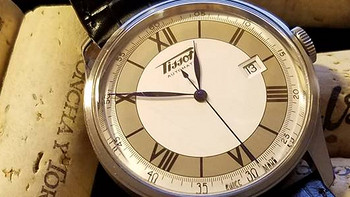 首晒?TISSOT 天梭 Heritage Sovereign 怀旧系列 T66.1.723.33 男士机械腕表