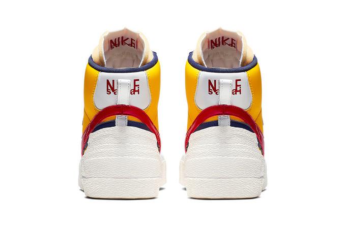 解构主义美学:Sacai x NIKE 联名 Blazer Highs 板鞋