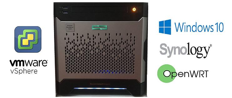 Gen8魔改ITX,实现Esxi虚拟NAS+Openwrt+Win10,打造家庭网络中心_什么值得买