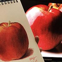 零基础彩铅小教程 篇三:新手实战之【球形与苹果】