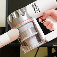 选择性价比的白电电器,给家里旧白电升级:京造手持无绳吸尘器 体验分享