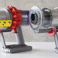戴森V11 VS V10提升的不止科技感,戴森V11无线吸尘器使用评测