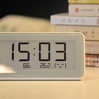 家具好物 篇三:见过采用水墨屏的电子表吗?米家温湿检测电子表知冷暖