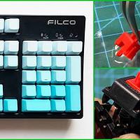 你吹牛我上税?高中女神的Filco斐尔可樱桃红轴机械键盘维修记...那些年折腾过的原厂轴...