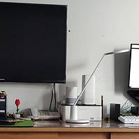 客厅变书房——我的实用性桌面分享